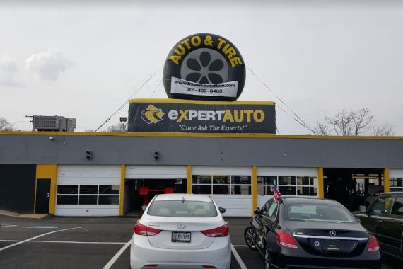 Exper Auto and Tire - Exterior of Shop